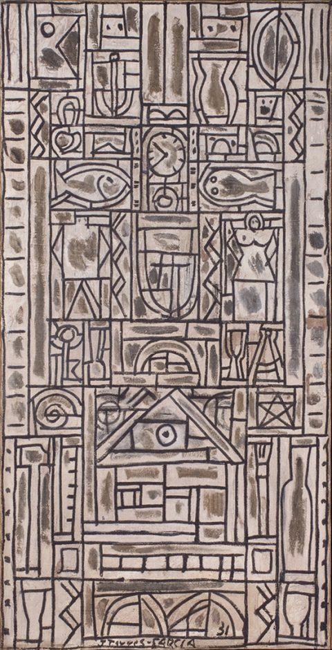 Torres Garcia Composition