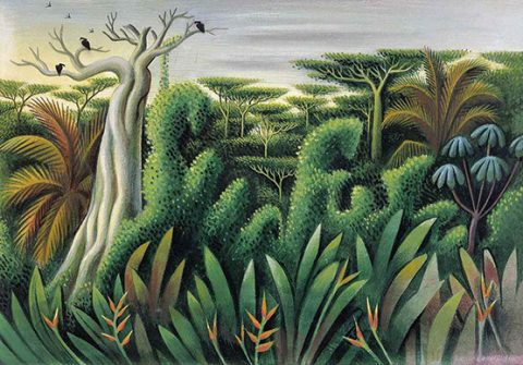 Covarrubias Jungle Scene