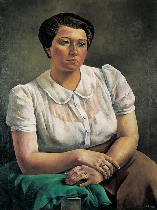 Antonio Berni. Retrato, 1939. Museo Rosa Galisteo de Rodríguez, Santa Fe.